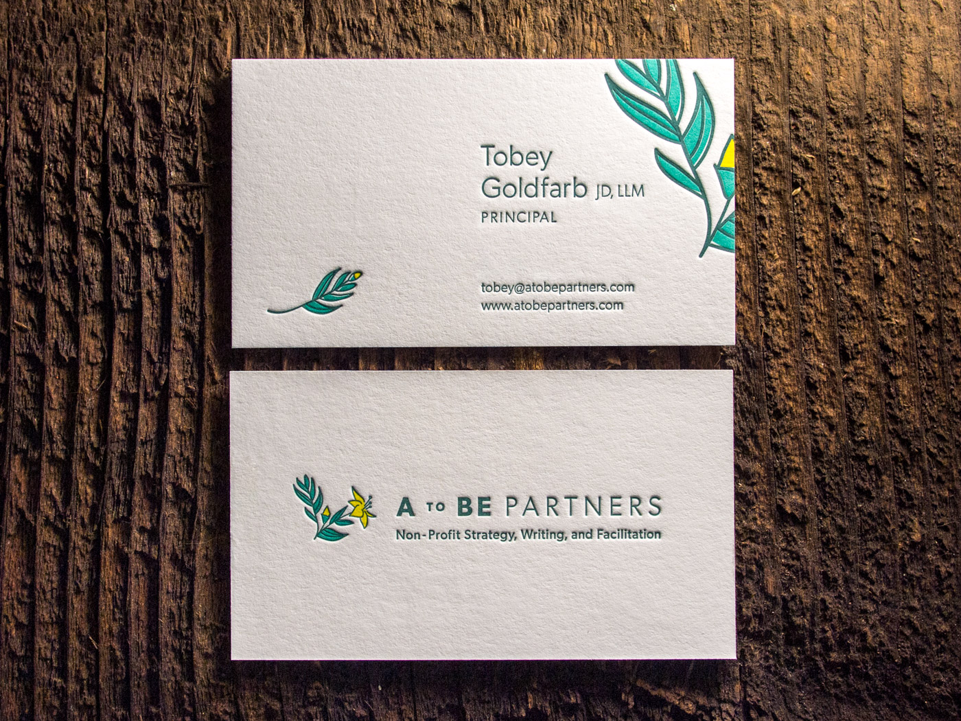 A to Be Partners | Printed by Parklife Press