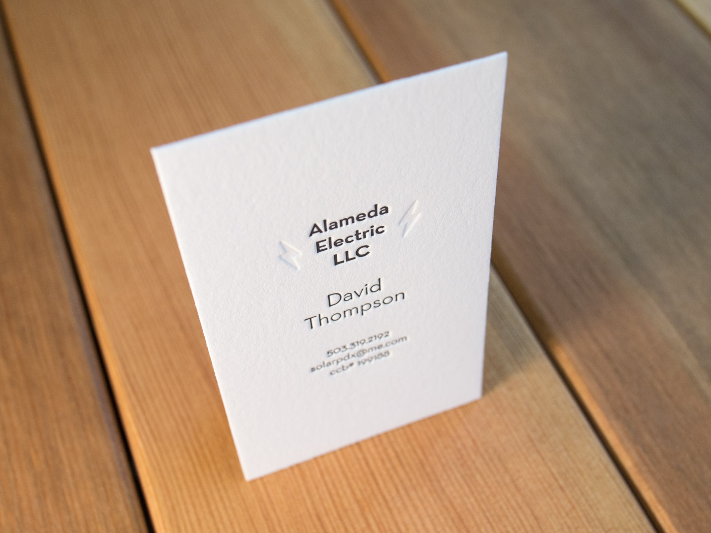Alameda Electric | Printed by Parklife Press