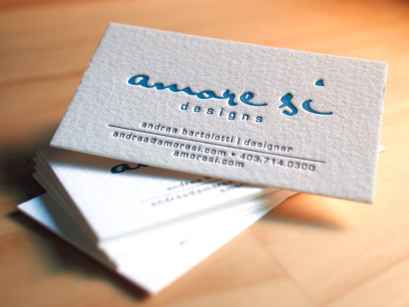 Amore Si | Printed by Parklife Press
