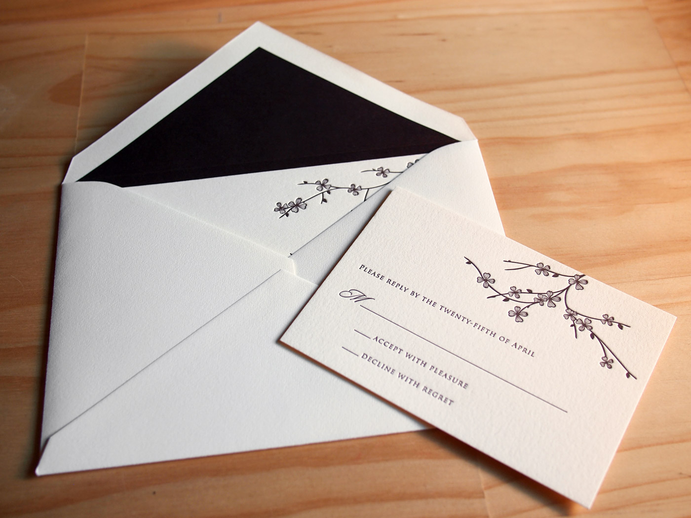 Arboretum invitation from Parklife Press