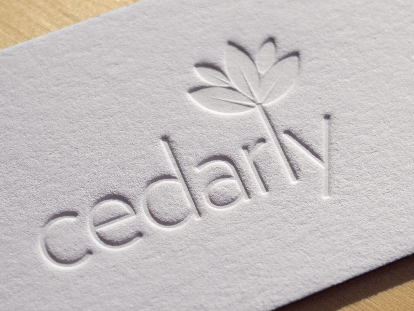Cedarly | Printed by Parklife Press