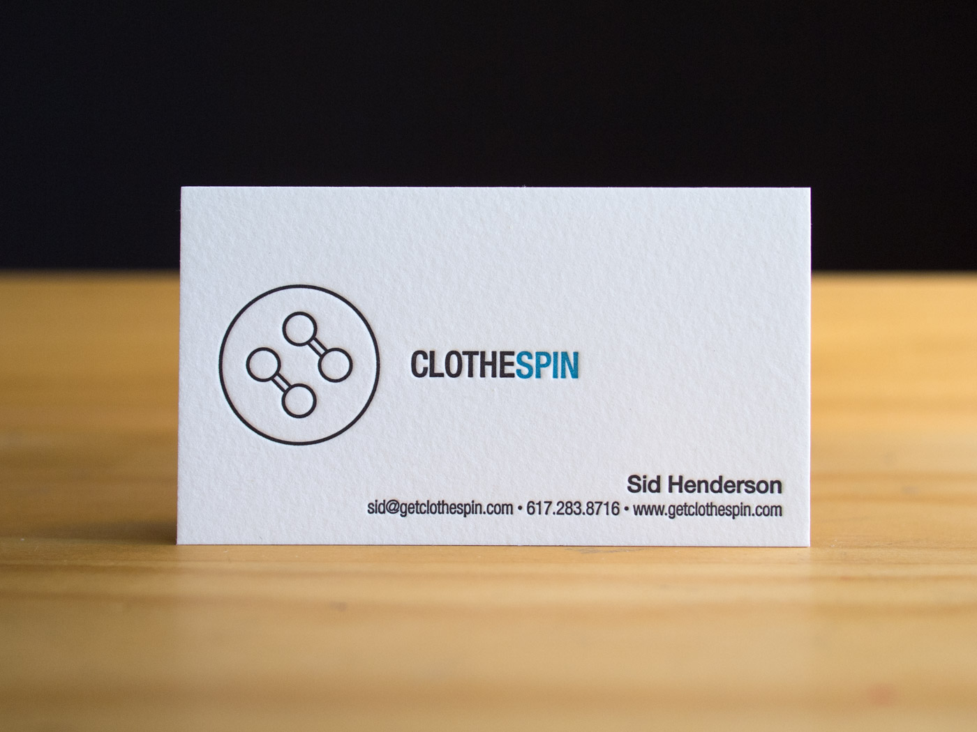 Clothespin | Printed by Parklife Press