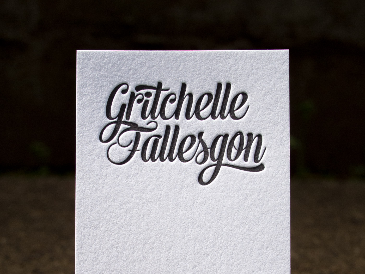 Gritchelle Fallesgon | Printed by Parklife Press