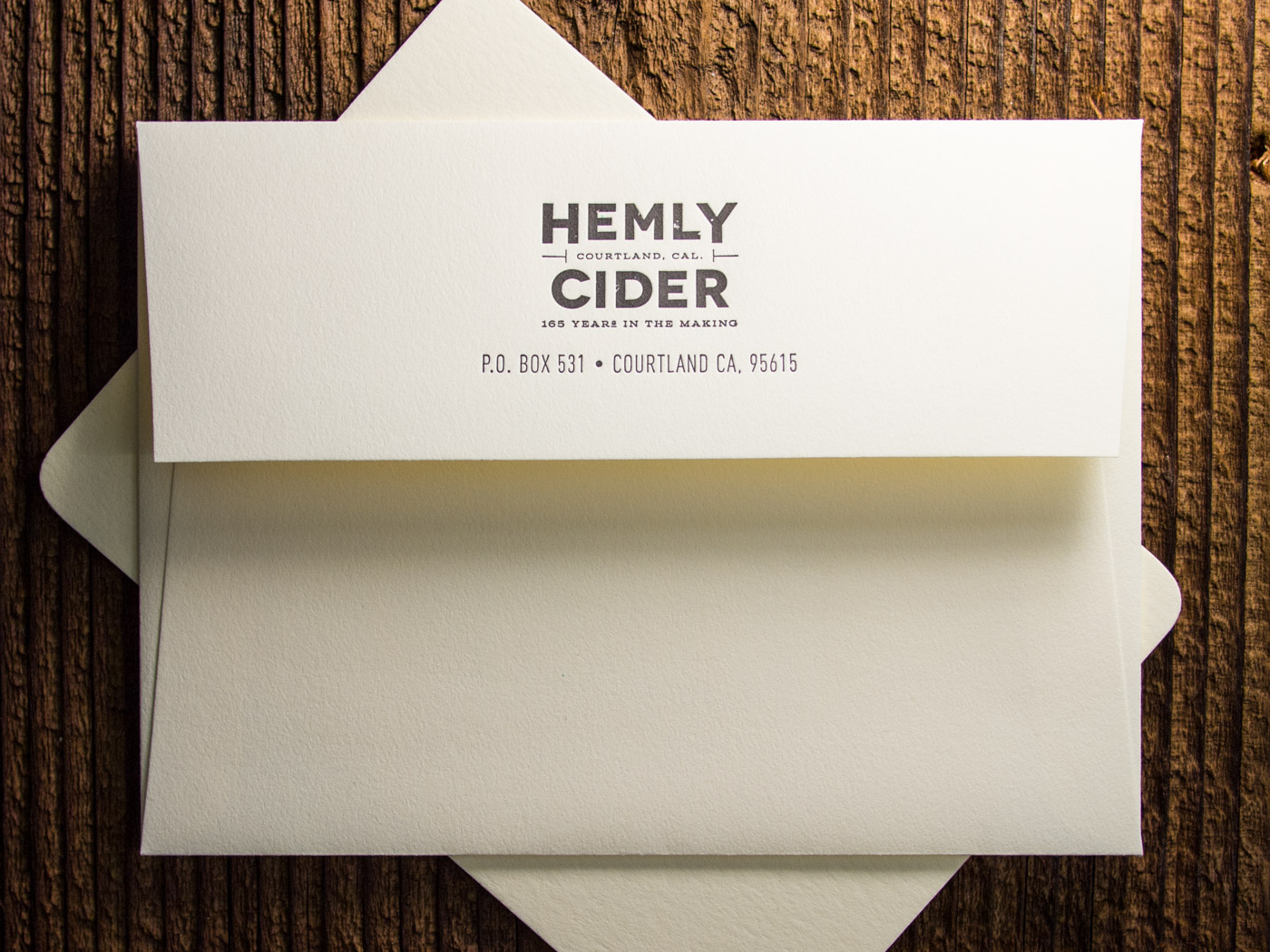 Hemly Cider | Printed by Parklife Press