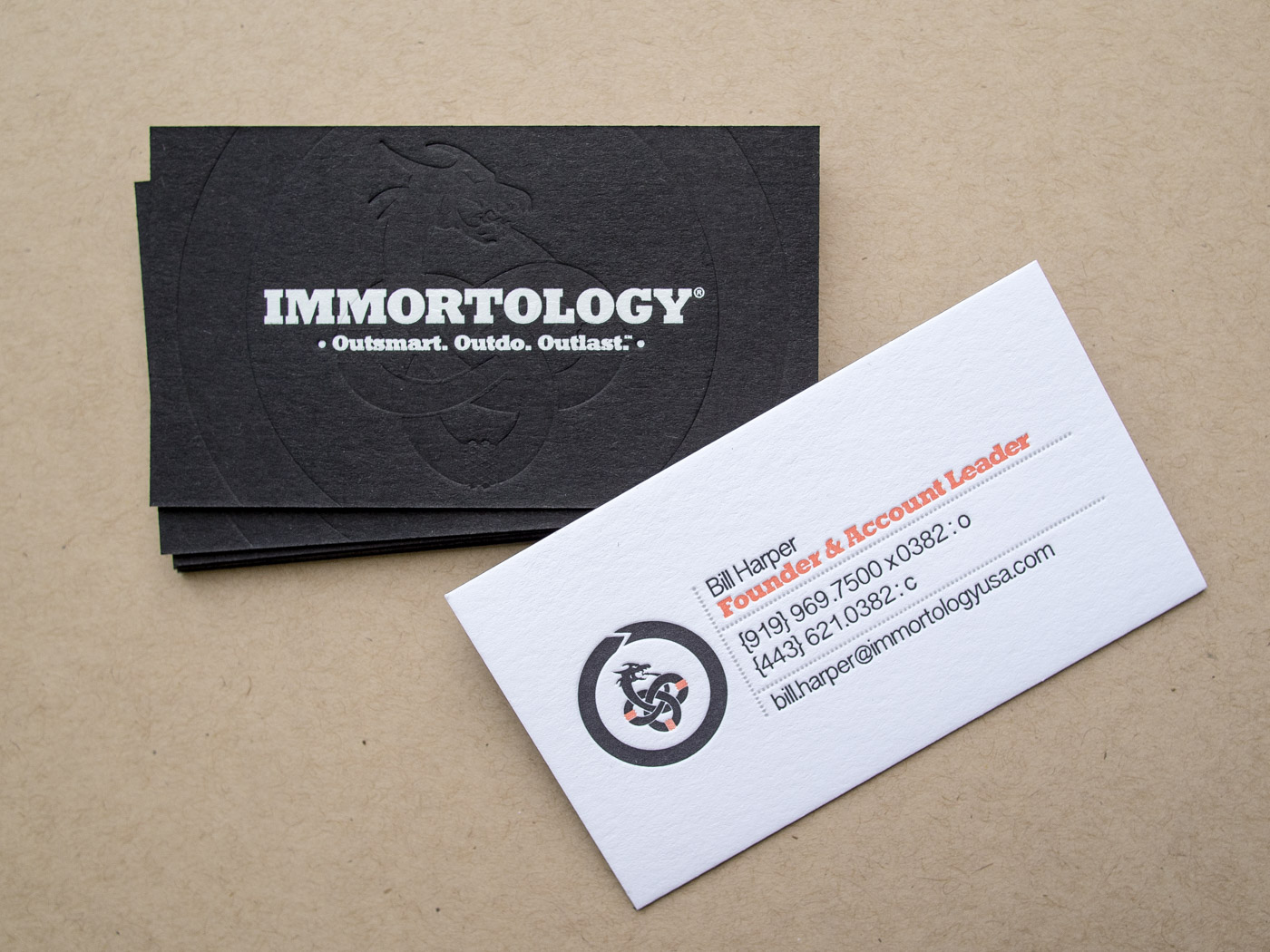 Immortology | Printed by Parklife Press