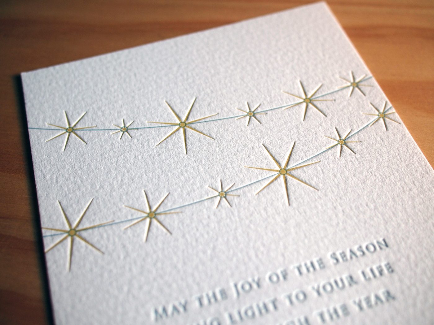 Lights Holiday Card from Parklife Press