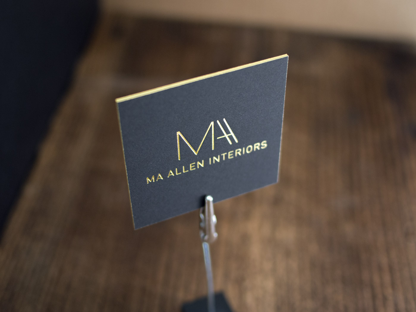 MA Allen Interiors | Printed by Parklife Press