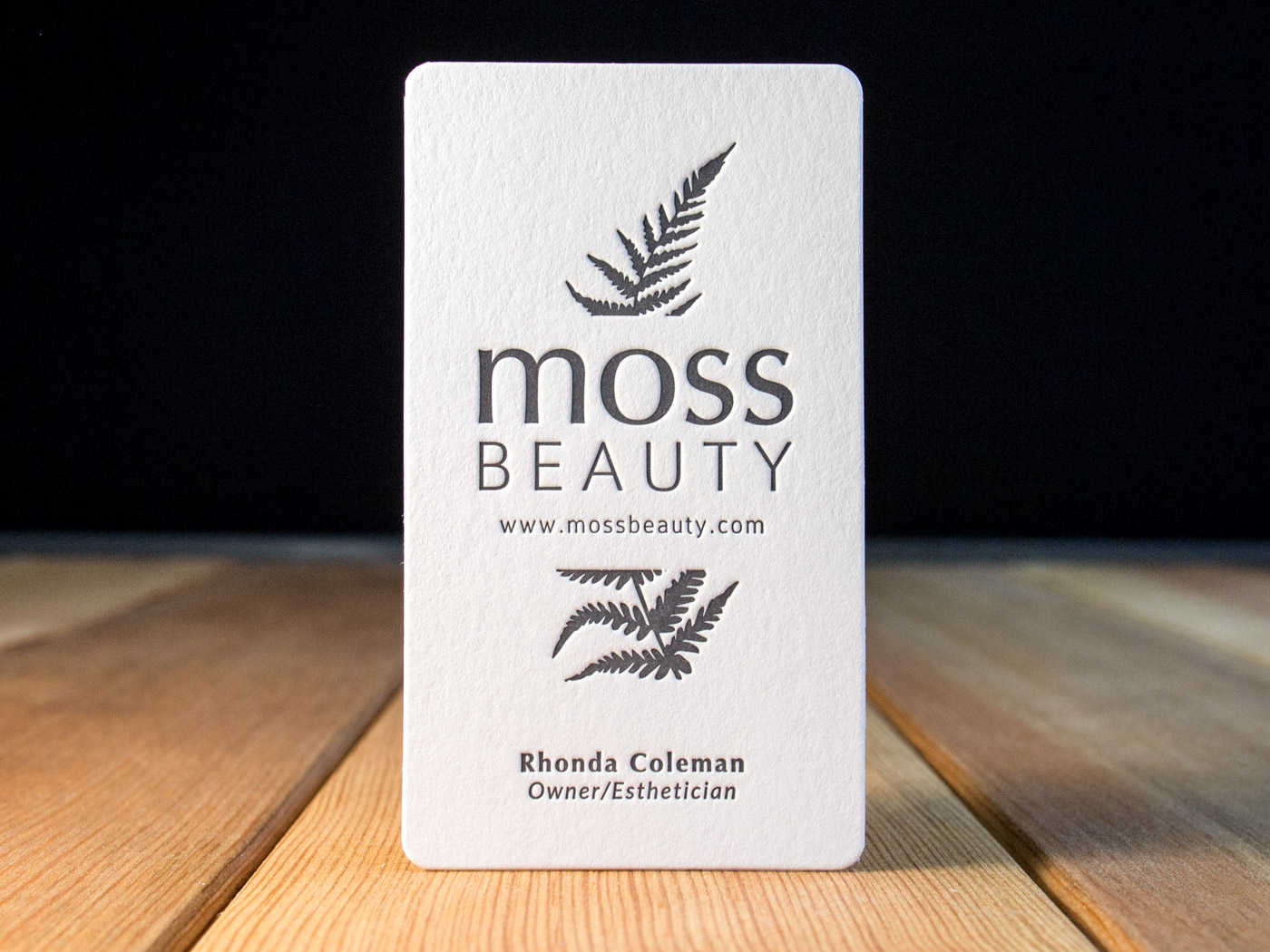 Moss Beauty | Printed by Parklife Press
