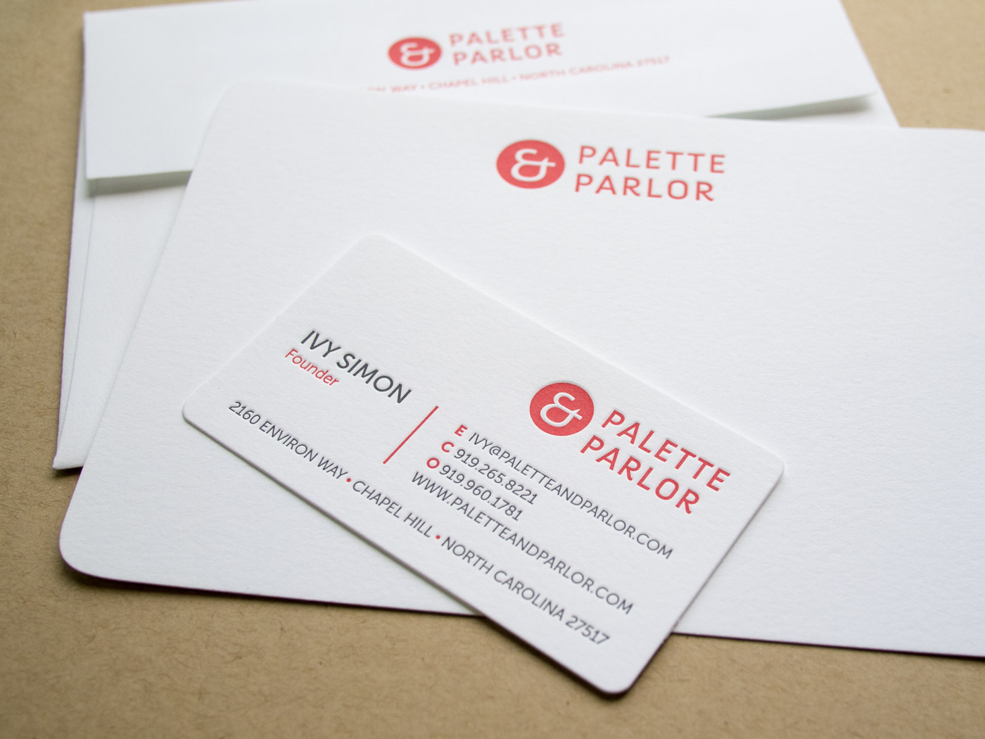 Palette and Parlor | Printed by Parklife Press