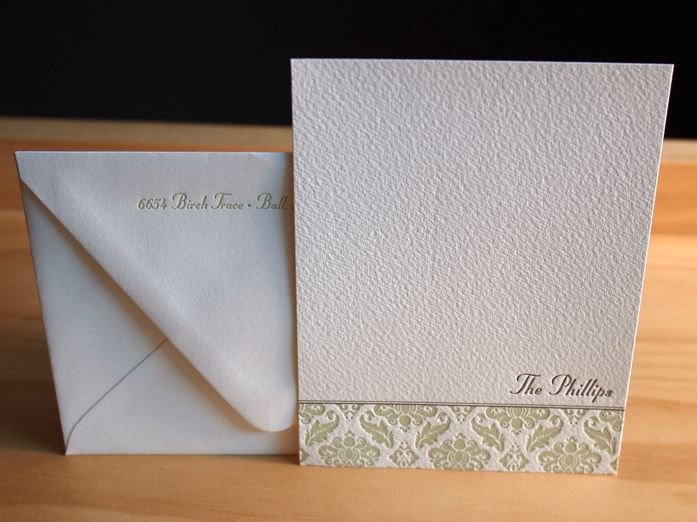 Personalized Stationery from Parklife Press