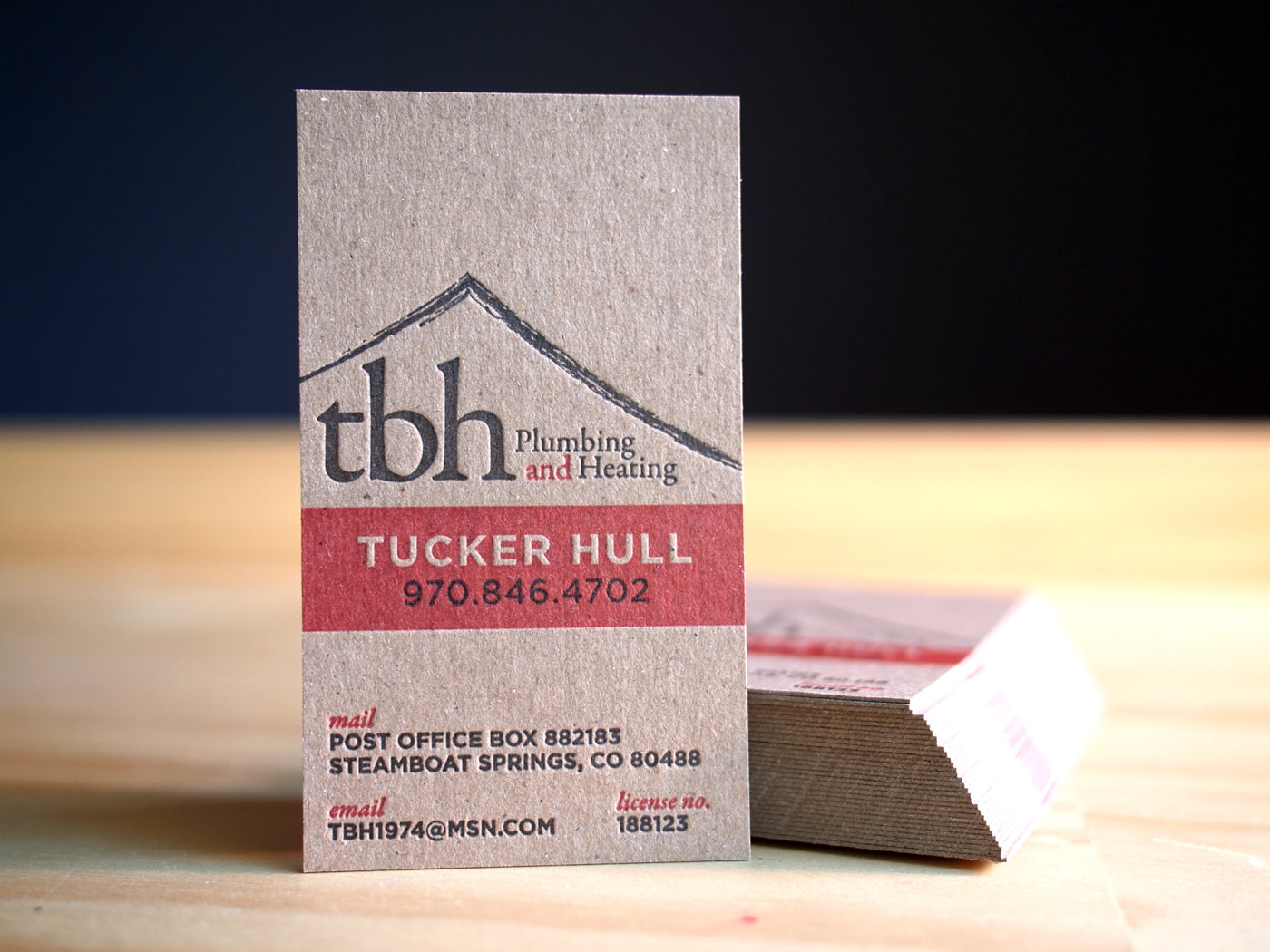 TBH Plumbing | Printed by Parklife Press