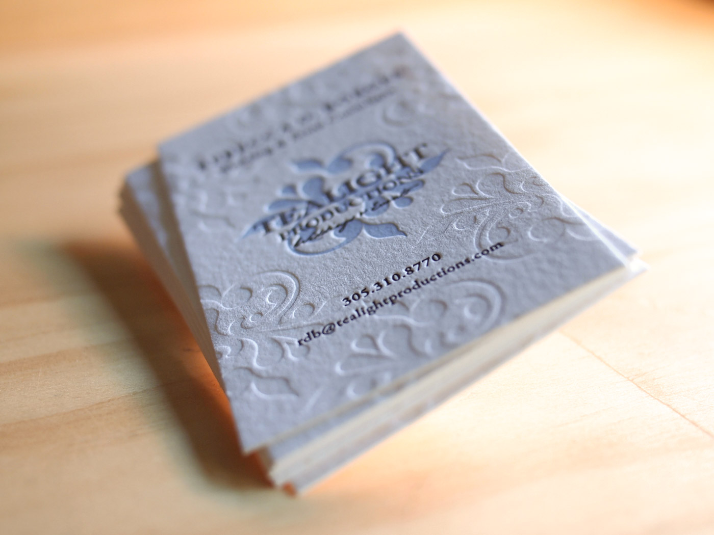Tealight Productions | Printed by Parklife Press
