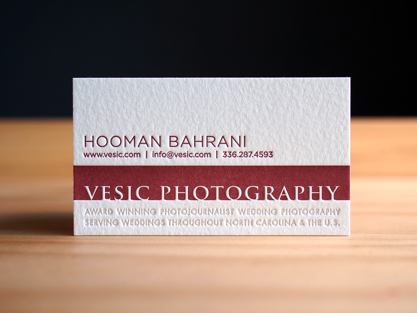 Vesic Photography | Printed by Parklife Press