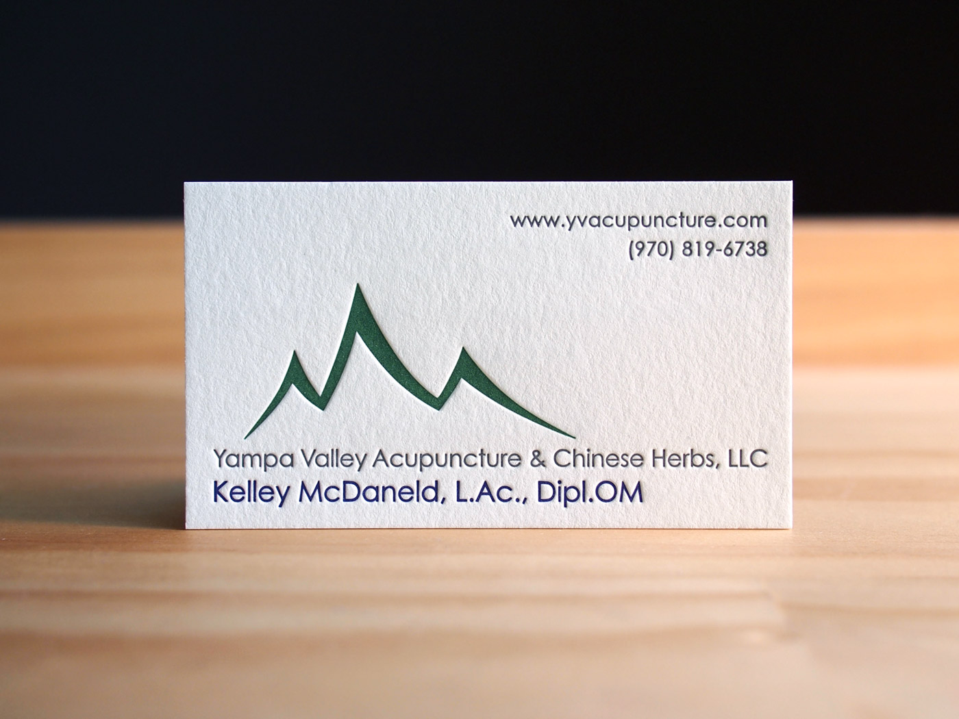 YV Acupuncture | Printed by Parklife Press